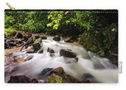 Beautiful Stream In Western Ghats Carry-all Pouch