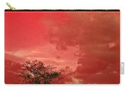 Beauty Stands Against The Terrible Sky Carry-all Pouch