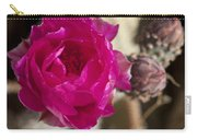 Beavertail Cactus Blossom 2 Carry-all Pouch