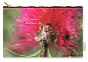 Bee On Bottlebrush Carry-all Pouch