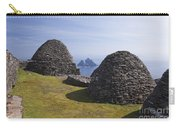 Beehive Stone Huts, Skellig Michael, County Kerry, Ireland Carry-all Pouch