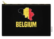 Belgium Flag Apparel Carry-all Pouch
