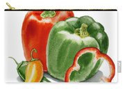 Bell Peppers Jalapeno Carry-all Pouch