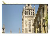 Bell Tower - Cathedral Of Seville - Seville Spain Carry-all Pouch