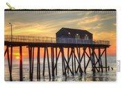 Belmar Fishing Pier Sunrise Carry-all Pouch