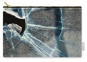 Belmont Cracked Window And Shadow 1599 Carry-all Pouch