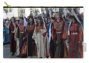 Bethlehemites In Traditional Dress Carry-all Pouch
