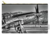 Betty Jane P51d Mustang At Livermomre Carry-all Pouch