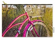 Bicycle At The Beach II Carry-all Pouch