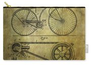Bicycle Patent From 1890 Carry-all Pouch