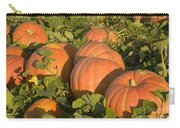 Big Mac Pumpkins In A Field Carry-all Pouch