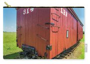 Big Red Caboose Wagon Carry-all Pouch by Alex Grichenko