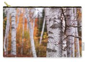 Birch Trees Fall Scenery Carry-all Pouch