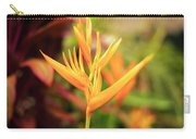 Bird Of Paradise Plant In The Garden. Carry-all Pouch