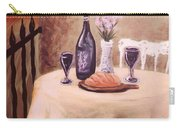 Bistro Mural Detail 3 Carry-all Pouch