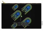 Bitcoin To The Moon Astronaut Cryptocurrency Humor Funny Space Crypto Carry-all Pouch