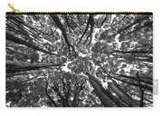 Black And White Nature Detail Carry-all Pouch