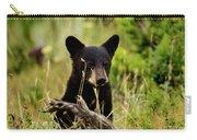 Black Bear Cub Carry-all Pouch