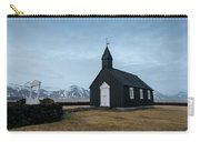 Black Church Of Budir, Iceland Carry-all Pouch
