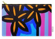 Black Eyed Flowers  Carry-all Pouch