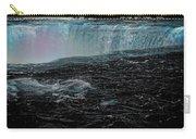 Black Niagara Carry-all Pouch by Richard Ricci
