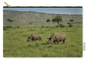 Black Rhinos Carry-all Pouch