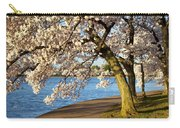Blossoming Cherry Trees Carry-all Pouch