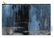 Blue Abstract 12m2 Carry-all Pouch