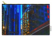 Blue Cityscape Carry-all Pouch