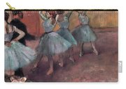 Blue Dancers Carry-all Pouch by Edgar Degas