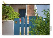 Blue Gate In Greece Carry-all Pouch
