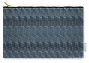 Blue Grey Line Texture Color Shade And Pattern Created By Navinjoshi At Fineartamerica.com Ideal For Carry-all Pouch
