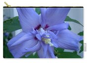 Blue Rose Of Sharon Carry-all Pouch