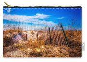 Blue Sky Over The Dunes Carry-all Pouch