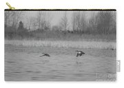 Blue Wing Teal Pair Carry-all Pouch