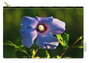 Bluebird Rose Of Sharon Carry-all Pouch