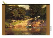 Boating In Central Park Edward Henry Potthast Carry-all Pouch
