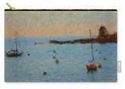Boats At Smugglers Cove Boothbay Harbor Maine Carry-all Pouch