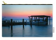 Boats At Sunset Carry-all Pouch