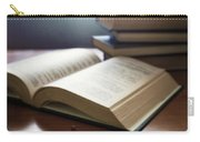Books And Glasses Carry-all Pouch