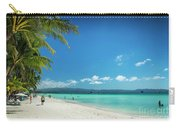 Boracay Island Tropical Coast Landscape In Philippines Carry-all Pouch