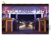 Boscombe Pier At Night Carry-all Pouch