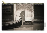 Bow Of A Gondola, Venice, Italy, Europe Carry-all Pouch
