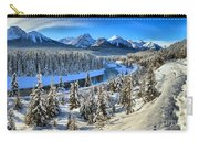 Bow Valley Winter View Carry-all Pouch