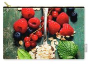Breakfast With Oats And Berries Carry-all Pouch