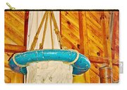 Breeches Buoy In Sleeping Bear Point Boathouse In Sleeping Bear Dunes National Lakeshore-michigan Carry-all Pouch