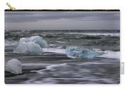 Brethamerkursandur Iceberg Beach Iceland 2155 Carry-all Pouch
