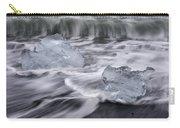 Brethamerkursandur Iceberg Beach Iceland 2588 Carry-all Pouch