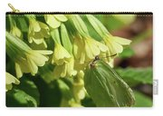 Brimstone On Cowslip Primrose Carry-all Pouch