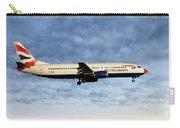 British Airways Boeing 737-436 Carry-all Pouch